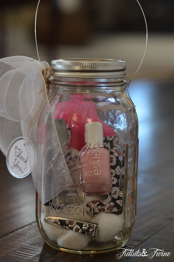 Mason jar gift ideas butterscotch tabby for What to fill mason jars with for christmas